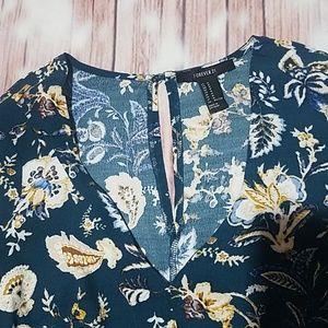 Forever 21 Shorts - Forever 21 Floral Romper